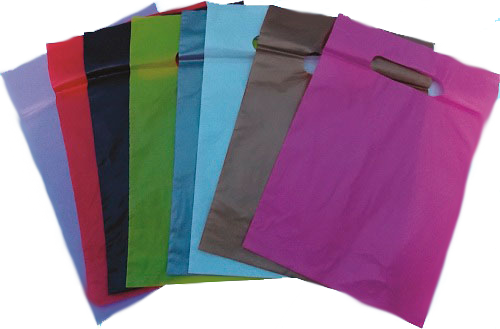 sacola alça vazada cores